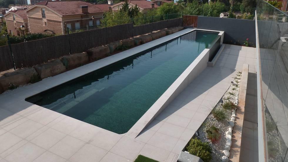 Focos piscina leroy merlin jardinires en fibre effet bton coloris gris leroy merlin with focos - Gresite piscinas leroy merlin ...